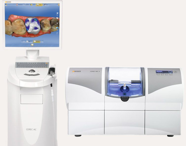 The CEREC computer system and milling unit